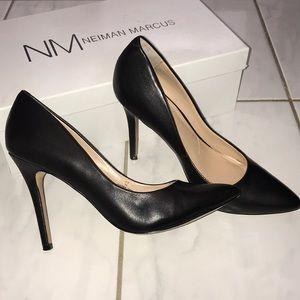 Neiman Marcus leather heels